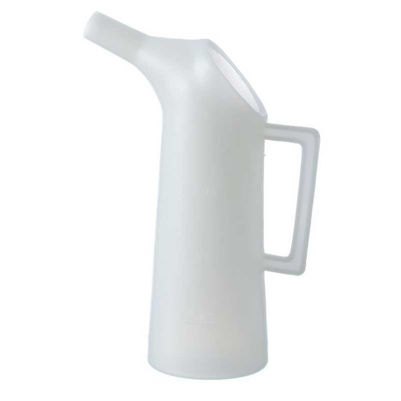 Kande med hældetud 1 liter