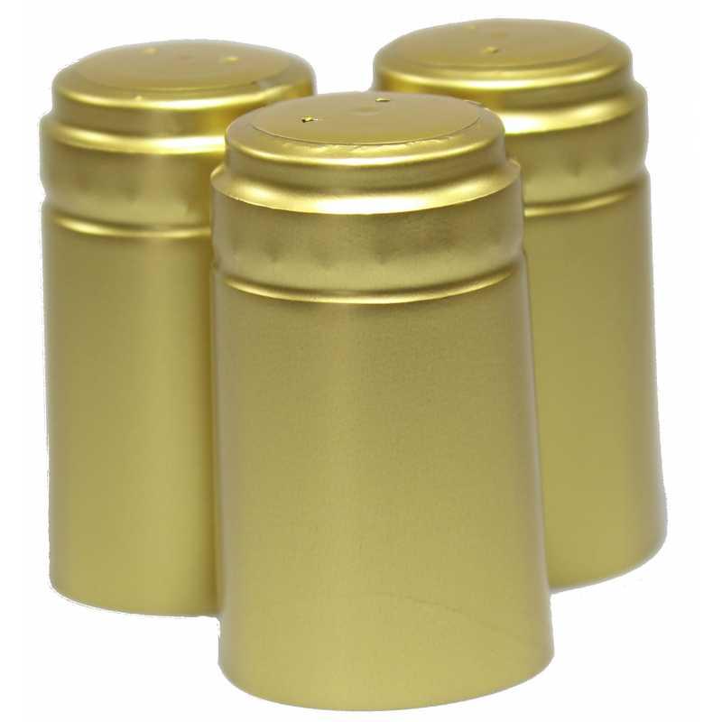 guld hat eller krympehætte til vinflasker